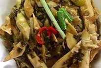 雪菜焖野笋的做法