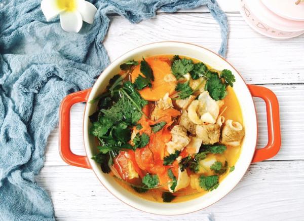 #洗手作羹汤#牛气冲天—番茄胡萝卜牛腩汤的做法