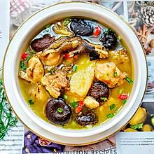 鲜美营养好喝的香菇炖鸡汤㊙清香不油腻