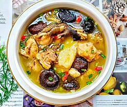 鲜美营养好喝的香菇炖鸡汤㊙清香不油腻的做法