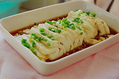 小葱拌豆腐#菁选酱油试用#