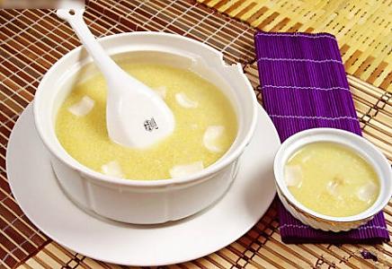 百合小米粥的做法