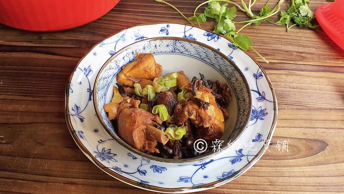#就是红烧吃不腻!#小鸡炖蘑菇