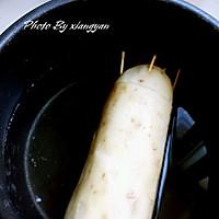 红糖桂花糯米藕的做法图解2