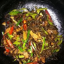 豇豆干茶树菇烧肉