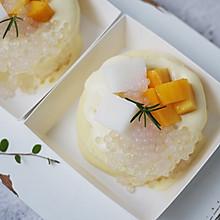 爆浆芒果椰椰奶冻蛋糕卷