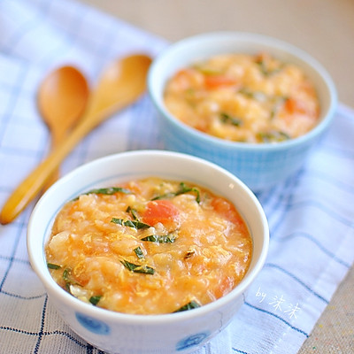 冬日快手暖身早餐 番茄疙瘩湯