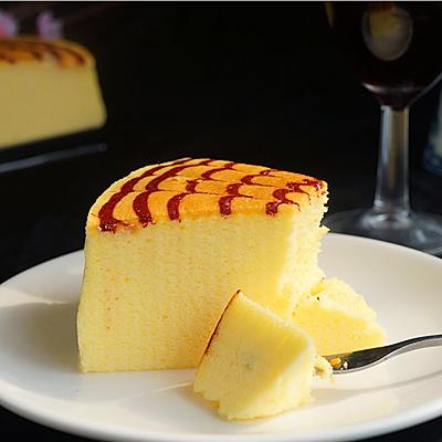 拉花轻乳酪蛋糕+