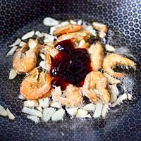 #一道菜表白豆果美食#杏鲍菇虾干青菜小炒的做法图解6