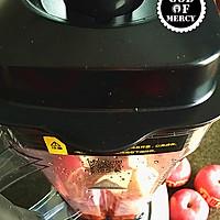 最有效逆生长的秘方=全能美容瘦身抗癌的苹果胡萝卜果汁的做法图解5