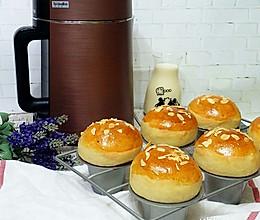 [再见渣难,九阳破壁豆浆机]豆浆甜面包的做法