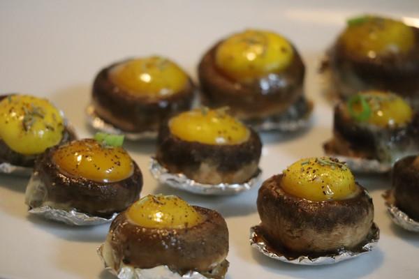 口蘑鹌鹑蛋的做法