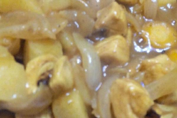 咖喱鸡块的做法