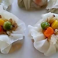 李孃孃爱厨房之一一糯米烧麦(饺子皮版)的做法图解15