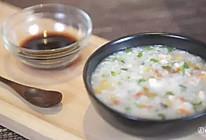 暖心虾蔬粥的做法