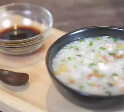 暖心蝦蔬粥