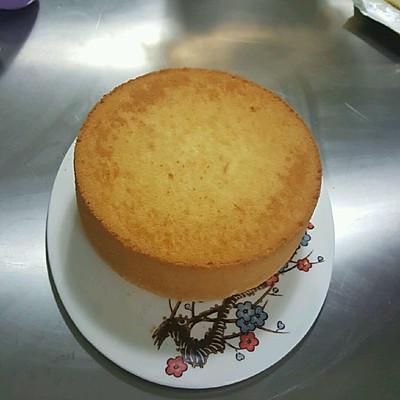 10寸戚风蛋糕