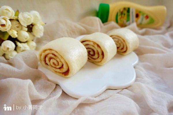 肉松蛋黄酱馒头卷#法国乐禧瑞,百年调味之巅#的做法