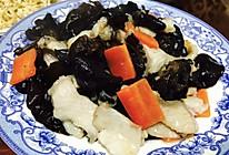 黑木耳炒鱼片的做法