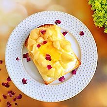 #花10分钟,做一道菜!#吐司太阳蛋