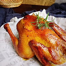 #父亲节,给老爸做道菜#家常烤鸡