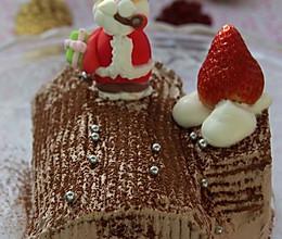 圣诞节一定要吃的 最经典的蛋糕 --- 圣诞树根蛋糕的做法