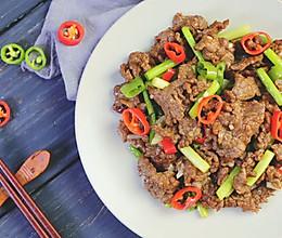 备受喜爱的小炒牛肉,妥妥的下饭菜!的做法