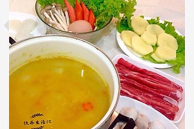 咖喱火锅#咖喱萌太奇#