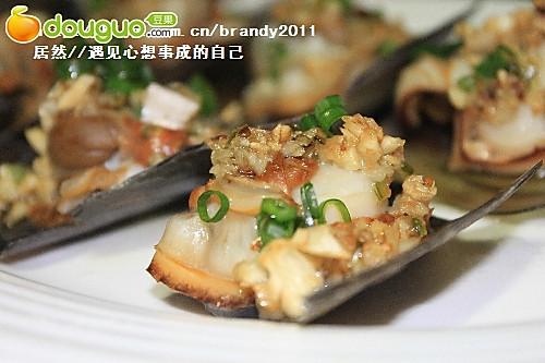 父亲节美食:蒜蓉烧带子的做法