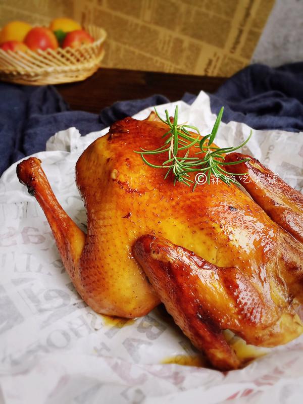 家常烤鸡的做法