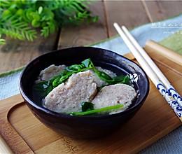 【春,食在达州】豌豆尖圆子汤