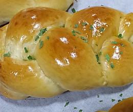 香葱肉松包-面包-咸面包的做法