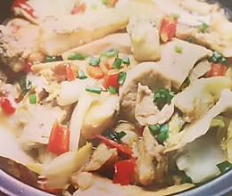 蚝油腐乳汁炖鱼块的做法