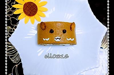 轻松熊蛋糕卷#走进爱尔兰,品味好奶源#