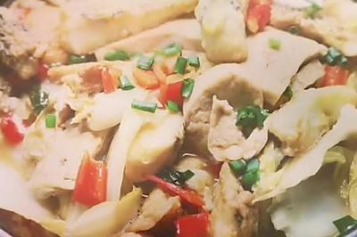 蚝油腐乳汁炖鱼块