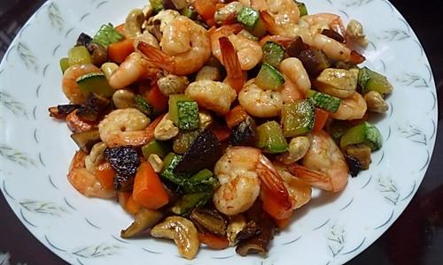 金玉满堂(腰果&虾球版)——豆果美食的做法