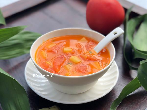 番茄土豆汤的做法