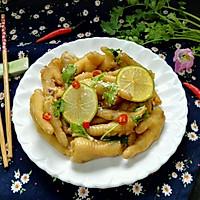 #一人一道拿手菜#小清新柠檬鸡爪的做法图解10