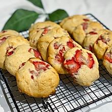 #入秋滋补正当时#草莓芝士奶酪饼干