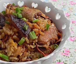 虫草花香菇乳鸽饭的做法