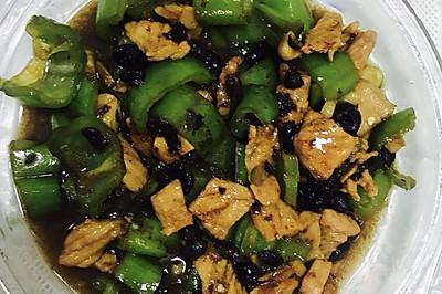 猪肉炒青椒