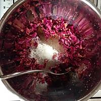玫瑰鲜花饼的做法图解2