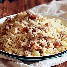 孜然羊肉卷炒饭 #今天吃什么#