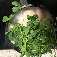 #春季减肥,边吃边瘦#虾丸草头汤的做法图解5