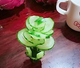 雕花青瓜的做法