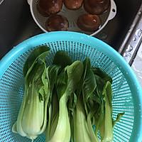 蚝油香菇青菜#人人能开小吃店#的做法图解2