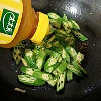 秋葵炒肉片#太太乐鲜鸡汁中式#的做法图解6