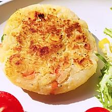 快手减肥早餐-饱腹感超强的土豆泥饼