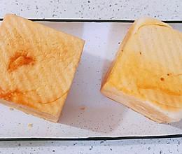 #我为奥运出食力#巨好吃‼️咸蛋黄奶酥吐司-无法拒绝的碳水的做法