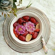 红枣枸杞玫瑰花茶,暖身茶